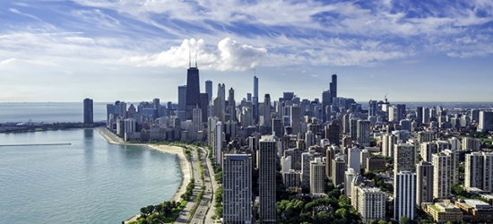 Based on 2 people per night | Boutique Chicago base with skyline views, Hotel Felix, Illinois