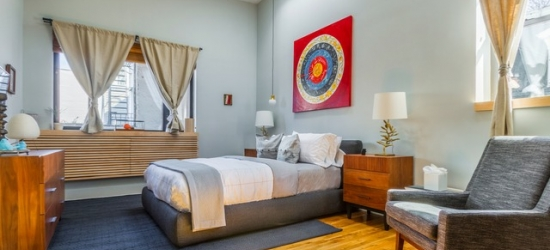 $ Based on 2 people per loft per night | Stylish Brooklyn stay at an industrial-chic loft space, Franklin Guesthouse, New York