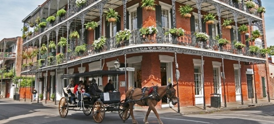 £98 & up-- New Orleans Hotel at 55% Off; Flights Available