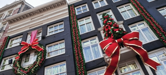 Amsterdam: 2-Night Christmas Markets Newcastle-Amsterdam Mini Cruise From For Two or Four with Meal Options*