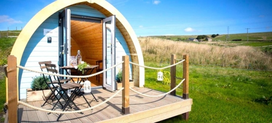 Lancashire: 2 Nights in Cottage for Up to Three or Glamping Pod for Two or Four at Rossendale Holidays