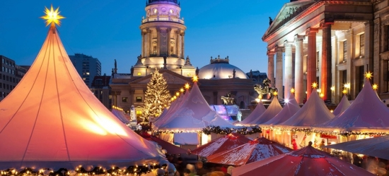 ✈ German Christmas Markets:  4 or 6 Nights in a 2 Cities of Choice with Flights and Domestic Train Transfer *