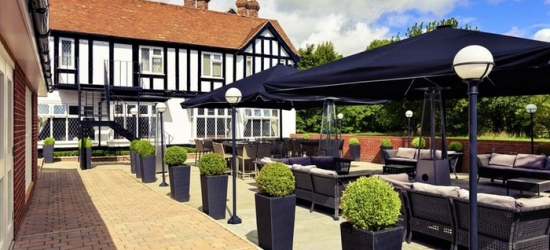 Oxfordshire: Standard Room for Two with Breakfast, Wine and Option for Tea and Dinner at 4* Mercure Thame Lambert Hotel