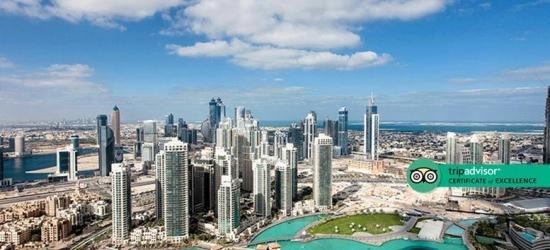 3-7nt 5* Dubai Break with Flights & Breakfast - King-Size Room!