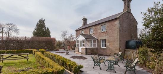 1-3nt Northumberland Break, Afternoon Tea & Breakfast for 2