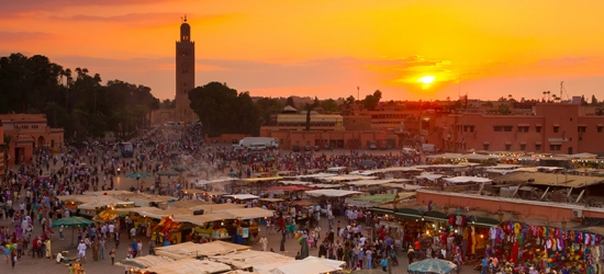 Marrakech Holiday, Breakfast  - Gueliz District!