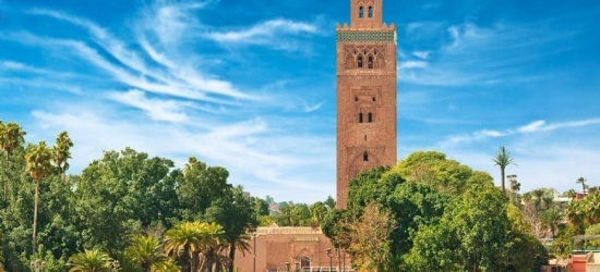 4* Luxury Marrakech Spa Stay, Breakfast  - Guéliz District!
