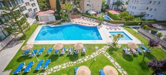 7nts at the 3* Atenea Park-Suites Apartments, Costa Brava