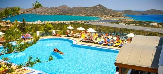 4* half-board Crete week w/flights