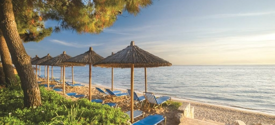All-inclusive 7nt beachfront Halkidiki holiday