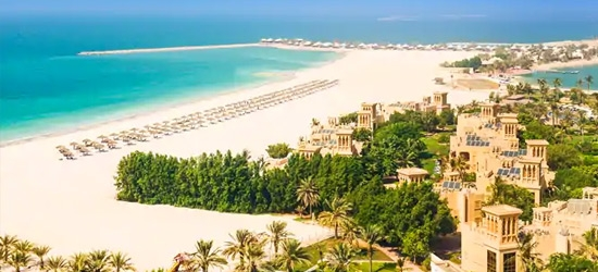 3nt 5* Ras Al Khaimah beach & golf resort getaway
