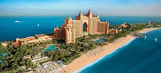 3nt 5* Atlantis the Palm, Dubai escape