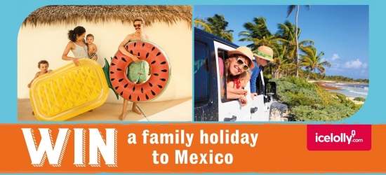 Win a 7-night family holiday to Mexico