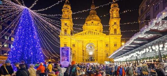 Budapest: 4* deluxe Christmas Market break w/extras