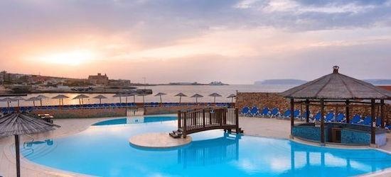4* Malta week w/breakfast & flights