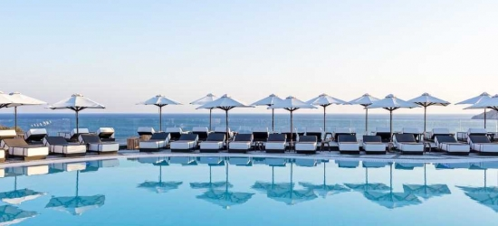 7 nights in Sep at the 5* Myconian Imperial Hotel, Mykonos, Greece