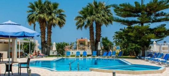 7 nights in May at the 4* Manolis Apartments, Crete East, Greece