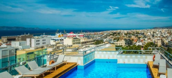 7 nights in Mar at the 4* Capsis Astoria Heraklion, Crete East, Greece