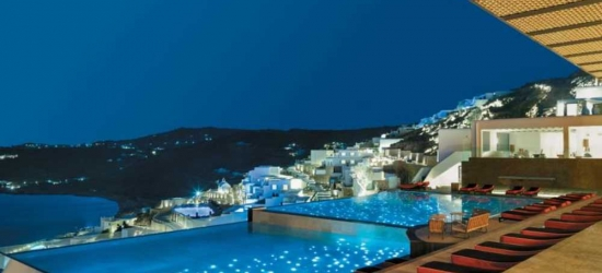 7 nights in Sep at the 5* Myconian Avaton Resort, Mykonos, Greece