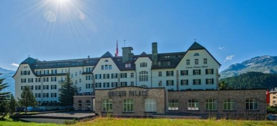 €140 per persona a per notte   Cresta Palace Hotel, St Moritz, Svizzera