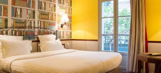 $ Based on 2 people per night | Refined Parisian base set in an 18th-century building, Hotel Relais Saint Sulpice, France