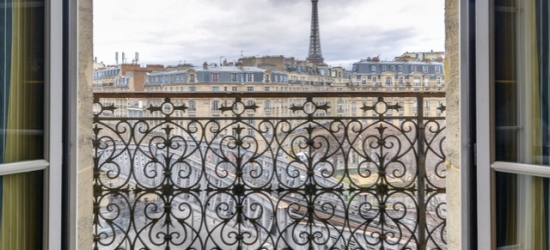 $ Based on 2 people per night | Elegant Paris stay with optional Eiffel Tower view, First Hotel Paris Tour Eiffel, France