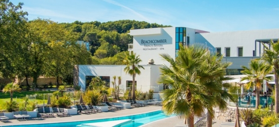Based on 2 people per night | Chic Cote d'Azur-area resort with a tennis academy, Beachcomber French Riviera Resort, Côte d'Azur, France