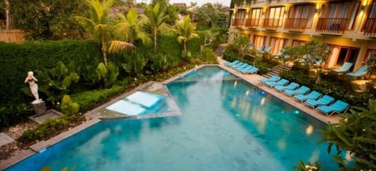 Based on 2 people per night | Lush Ubud hideaway with tranquil spa, Bali, Indonesia