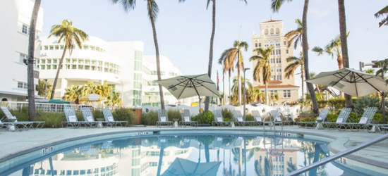 Based on 2 people per night | Stylish South Beach stay in an iconic Art Deco hotel, Washington Park Hotel, Miami