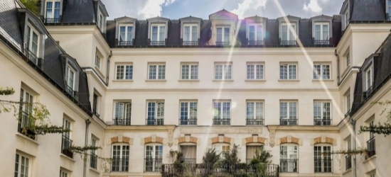 $ Based on 2 people per night | Hip Paris hotel with its own ice bar, Kube Hotel, France
