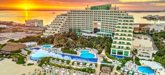 $ Based on 2 people per night | All-inclusive 5* Cancún luxury resort, Live Aqua Cancún, Mexico