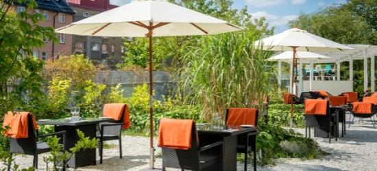 Based on 2 people per night | Chic and charming Stockholm base close to Stureplan, Elite Hotel Arcadia, Sweden