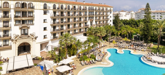 $ Based on 2 people per night | Modern hotel on Spain's Costa del Sol, H10 Andalucía Plaza, Marbella, Spain