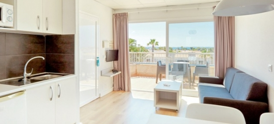 Based on 2 people per night | All-inclusive Menorca stay at a modern hotel near the beach, SunConnect Hotel Los Delfines, Spain