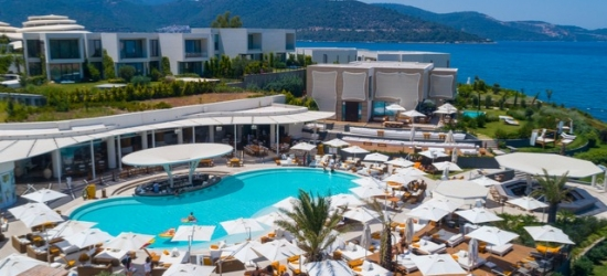 $ Based on 2 people per night | Blissful Bodrum stay with optional private pool, Nikki Beach Resort & Spa Bodrum, Turkey