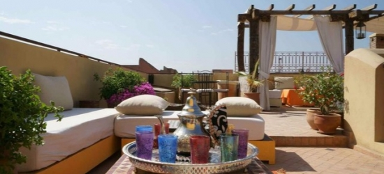 Based on 2 people per night | Boutique riad in a peaceful part of Marrakech, Riad Dar Alif, Morocco