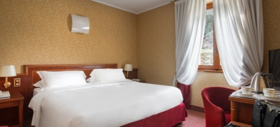 $ Based on 2 people per night | Modern Lake Lugano stay at a city center hotel, Lugano Dante Center Swiss Quality Hotel, Switzerland
