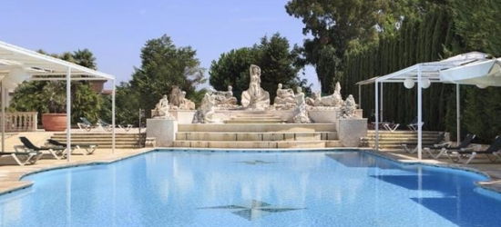 Based on 2 people per night | Palatial Baroque-style spa hotel in Italy's Caserta, Grand Hotel Vanvitelli, Italy