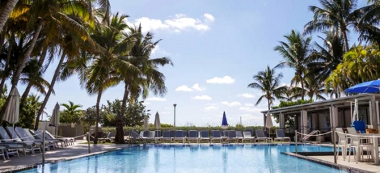 $ Based on 2 people per night | Glamorous South Beach all-suite art hotel, The Sagamore Hotel, Florida