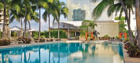 $ Based on 2 people per night | 5* downtown Miami base with a sprawling pool deck, Brickell, Florida
