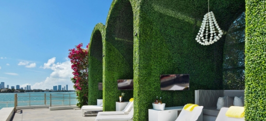 Based on 2 people per night | Sleek South Beach design-led spa hotel, Mondrian South Beach, Florida