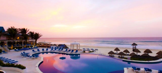 $ Based on 2 people per night | All-inclusive Cancún resort with an ocean-view pool, Golden Parnassus Resort & Spa, Mexico