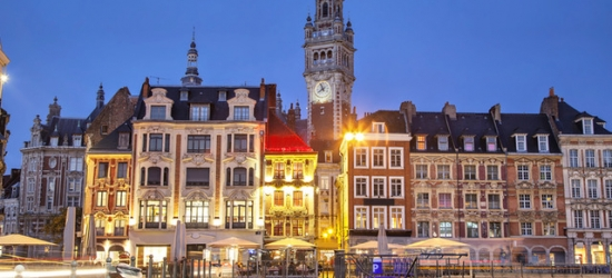 $ Based on 2 people per night | 5* spa hotel in Lille's historic center, L'Hermitage Gantois,France