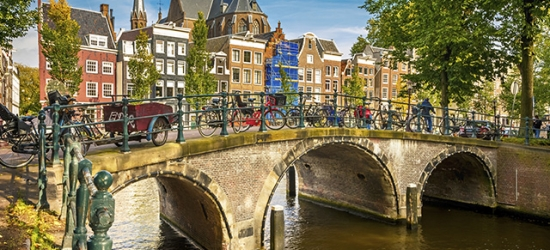 $ Based on 2 people per night   Contemporary Amsterdam city-center hotel stay, Eden Hotel Amsterdam, Netherlands