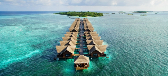 Maldives: deluxe all-inc holiday with beach villa & flights