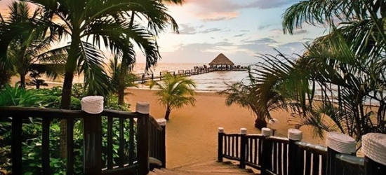 £76 -- Belize Beachfront Resort, Save 45%