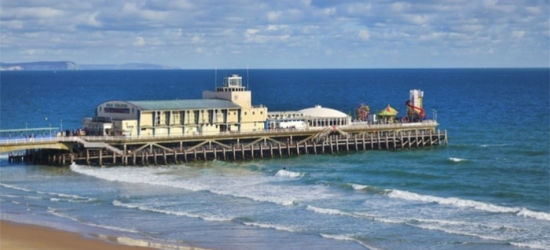 Bournemouth: Double or Twin Room for Two with Breakfast, Dinner, Coffee or Tea with Cake, and Wine at The Mayfair Hotel