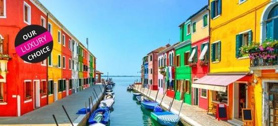 4* Luxury Murano Island, Venice Escape, Deluxe Room & Breakfast