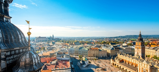 4* Central Krakow Break, Breakfast  - Christmas Market Dates