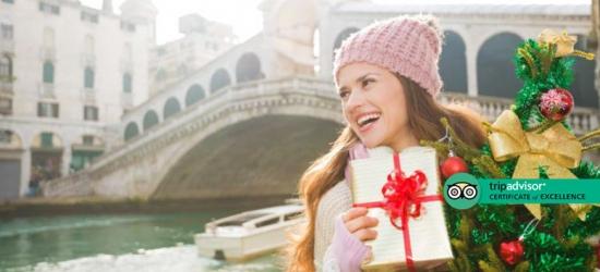 4* Wintry Venice Stay, Breakfast  - Christmas Market Dates!